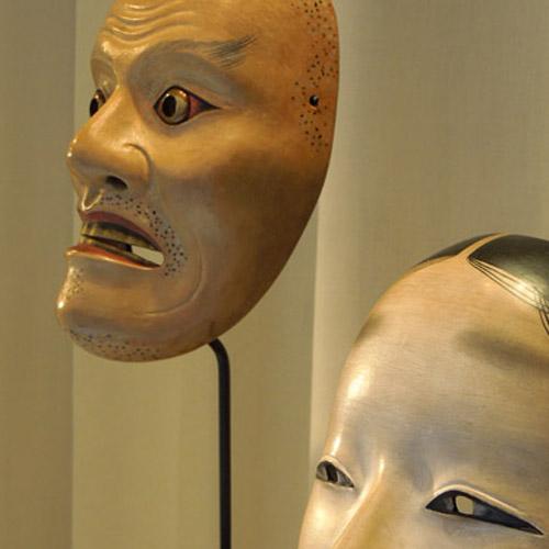 Maschere giapponesi teatro No